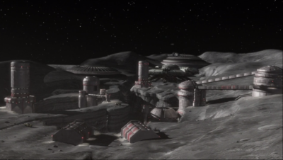 There is a mining colony on the moon? A lot of xenophobes like to hang out there
